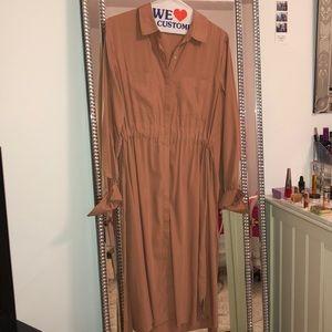 Forever 21 Dresses - F21 Contemporary Long Tie-Back Dress